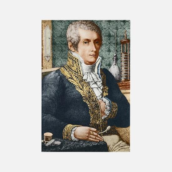 Alessandro Volta, Italian physici Rectangle Magnet