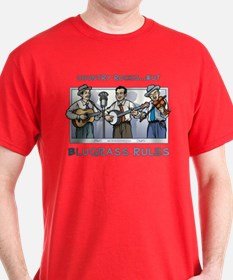 Colored Bluegrass Rules T-Shirt