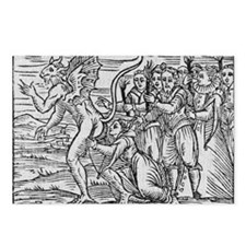 Adoration of the Devil, 1 Postcards (Package of 8)