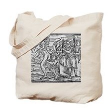 Adoration of the Devil, 17th century Tote Bag