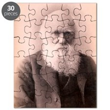 1879 Charles Darwin at eighty years old Puzzle