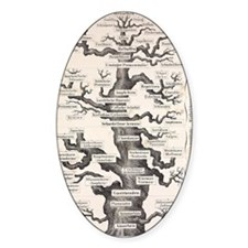 1874 Haeckel first full 'tree of li Decal