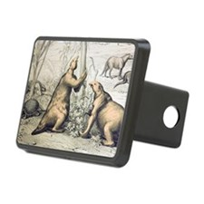 1862 Giant Ground Sloth Me Hitch Cover