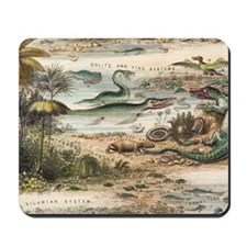 1849 The antidiluvian world crop Jurassi Mousepad