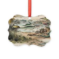 1849 The antidiluvian world crop  Ornament