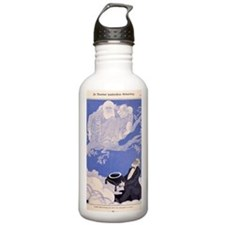 1909 Cartoon Darwin, a Water Bottle