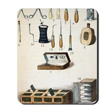 19th Century kit for Collecting Insects Mousepad