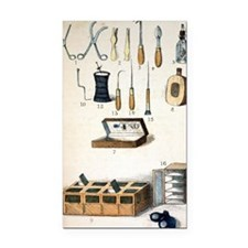 19th Century kit for Collecti Rectangle Car Magnet