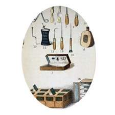 19th Century kit for Collecting Inse Oval Ornament