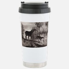 1837 Extinct prehistoric animal Travel Mug