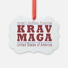 Krav Maga USA Ornament