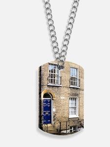 1836 Charles Darwin's House Cambridge Dog Tags