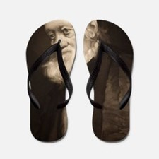 1889 Sir Richard Owen portrait old age  Flip Flops