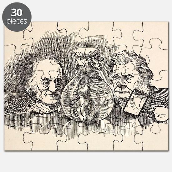 1885 Richard Owen, T.H. Huxley, waterbaby Puzzle