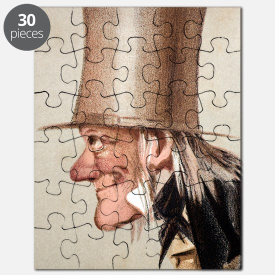 1873 Richard Owen Vanity Fair CU portrait Puzzle