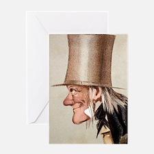 1873 Richard Owen Vanity Fair CU por Greeting Card