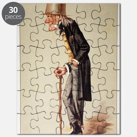 1873 Richard Owen 'Old bones' Vanity Fair Puzzle