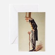 1873 Richard Owen 'Old bones' Vanity Greeting Card