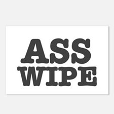 ASS WIPE Postcards (Package of 8)