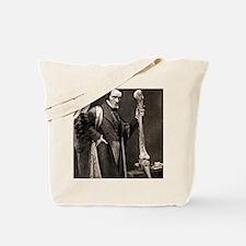 1846 Richard Owen and Moa leg fossil Tote Bag