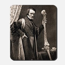 1846 Richard Owen and Moa leg fossil Mousepad