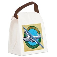 China Clipper Canvas Lunch Bag