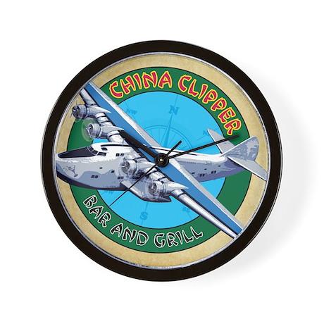 China Clipper Wall Clock