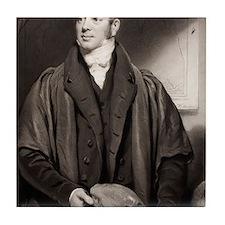 1833 Reverend William Buckland fossil Tile Coaster