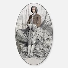 1764 Jean Jacques Rousseau Portrait Decal
