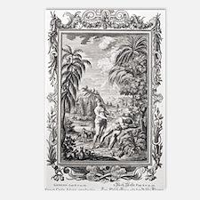 1731 Scheuchzer Creation  Postcards (Package of 8)