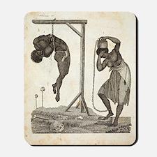 1810 Punishment of Slaves engraving Mousepad