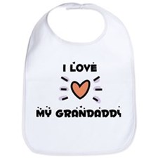 I Love My Grandaddy Bib