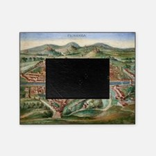 16th Century Plan of Florence Picture Frame