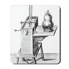 17th Century science experiment, artwork Mousepad