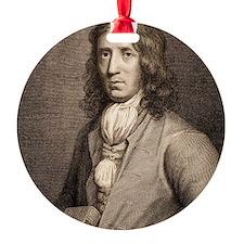 1698 William Dampier Pirate Natural Ornament