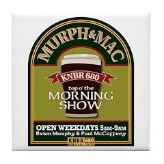 Murph & Mac Tile Coaster