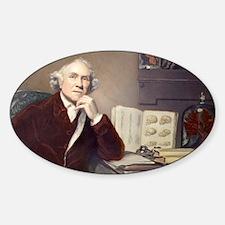 1788 John Hunter Portrait Surgeon Decal