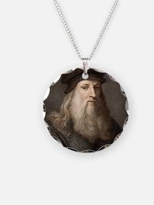 1490 Leonardo Da Vinci colou Necklace