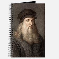 1490 Leonardo Da Vinci colour portrait Journal
