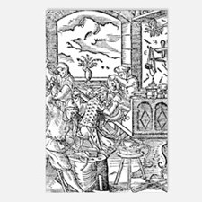 16th Century metallurgy w Postcards (Package of 8)
