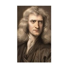 1689 Sir Isaac Newton portrait Decal