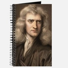 1689 Sir Isaac Newton portrait young Journal