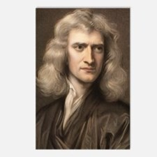 1689 Sir Isaac Newton por Postcards (Package of 8)