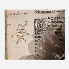 1516 amphisbaenid Pliny's Natural Hi Throw Blanket