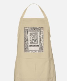 1516 Frontis for Pliny's Natural History Apron