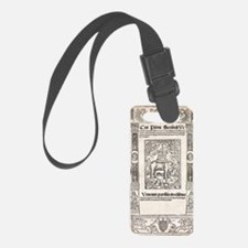 1516 Frontis for Pliny's Natural Luggage Tag
