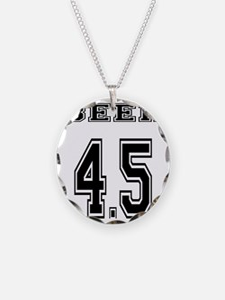 BEER 4.5 team jersey Necklace