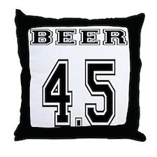 BEER 4.5 team jersey Throw Pillow