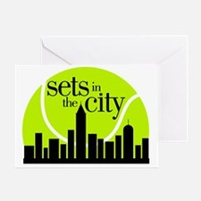 Sets in the City Greeting Card