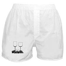 Wine Glasses Boxer Shorts